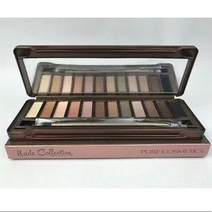 Pure cosmetic nude palette